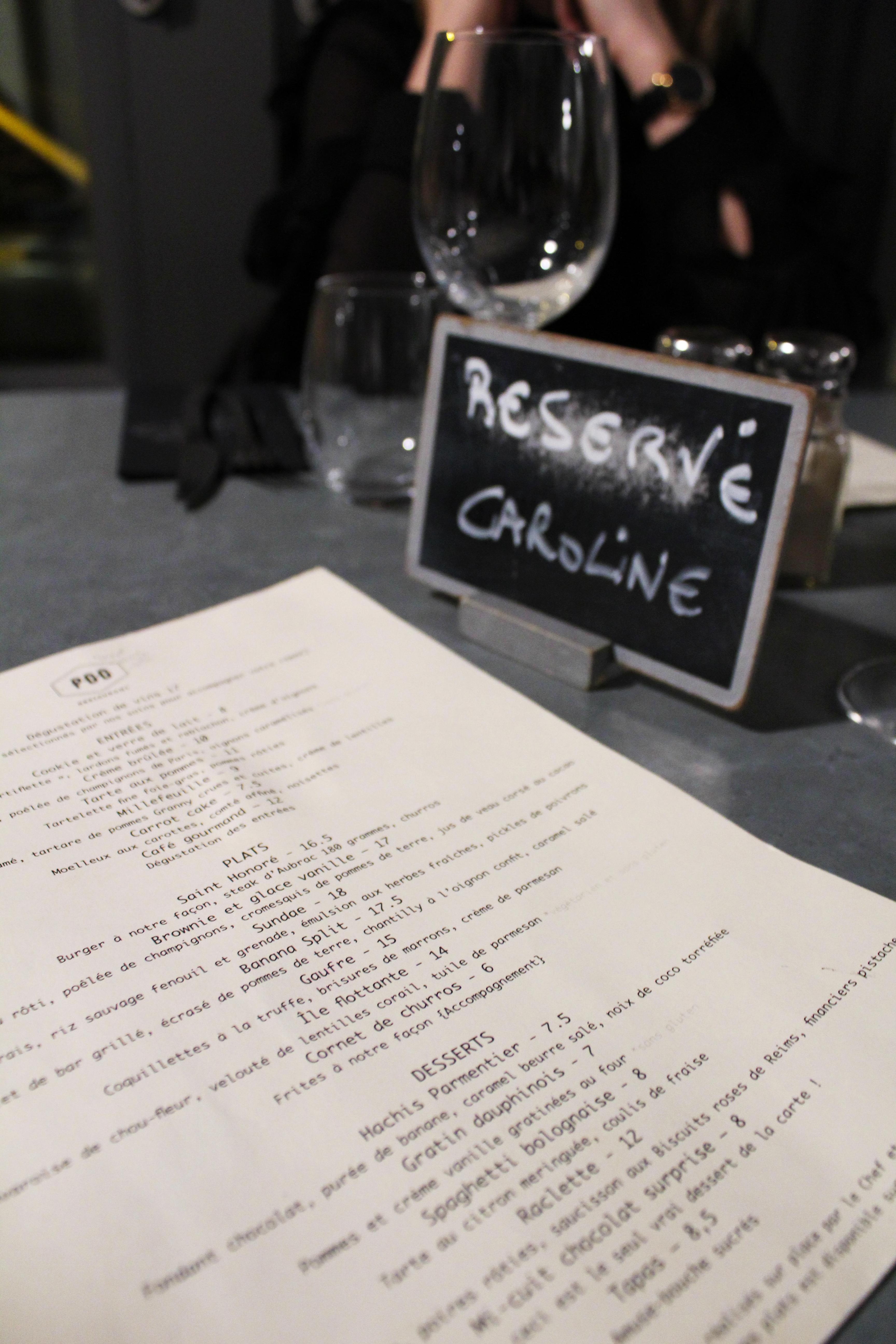 Privé de dessert : l'étonnant restaurant parisien