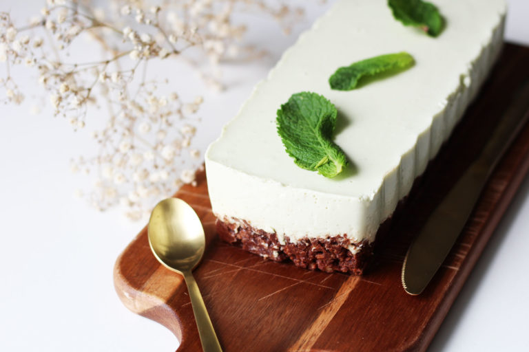 Cheesecake à la menthe