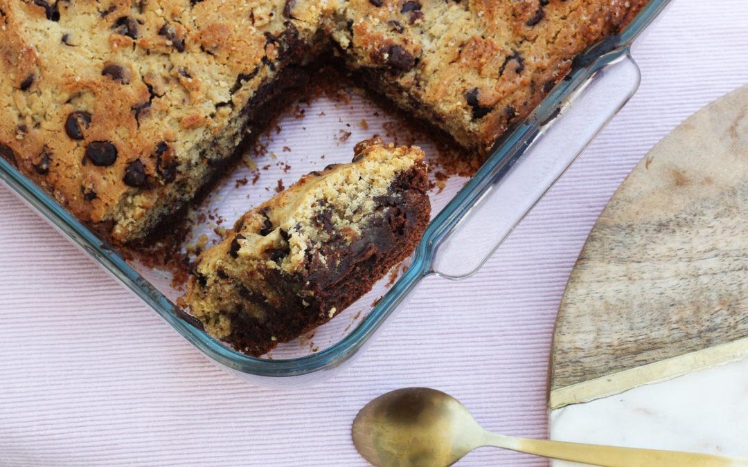 Le Brookie, mariage entre un brownie et un cookie